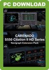 Carenado Navigraph S550 Citation Expansion Pack