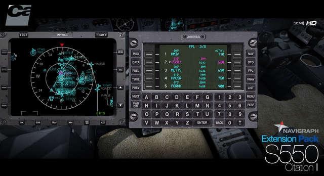Just Flight - Carenado S550 Citation II HD Series