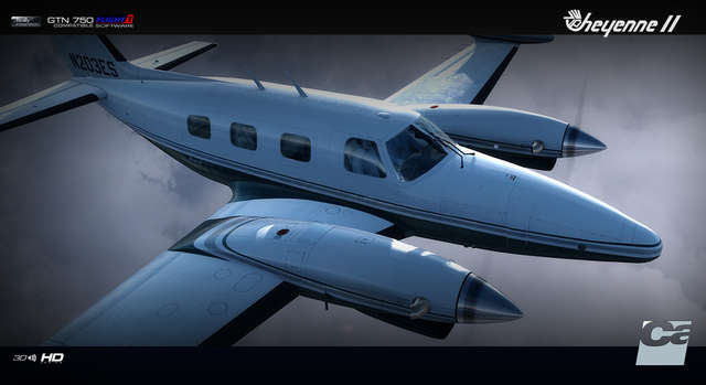 Carenado PA31T CHEYENNE II HD SERIES FSX/P3D