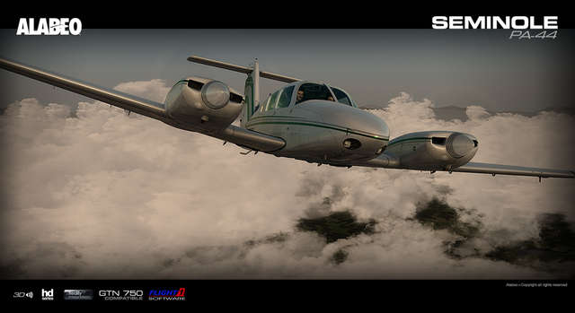 Carenado PA-44 Seminole (for FSX or P3D)