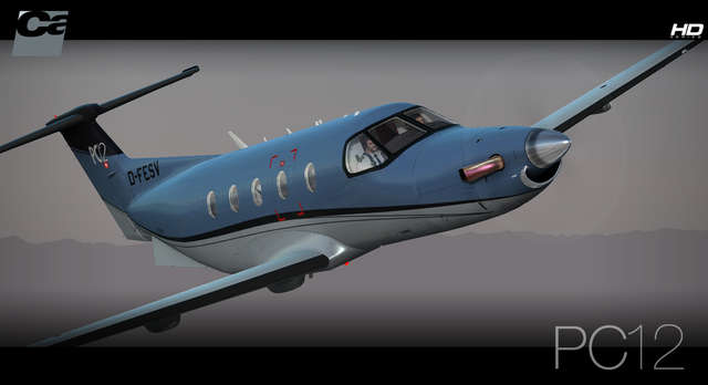 Carenado PC-12 HD Series
