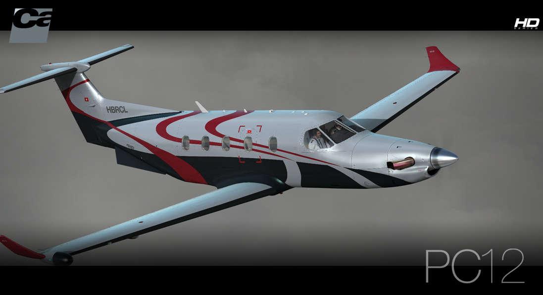 Just Flight - Carenado PC-12 HD Series (for FSX & P3D)