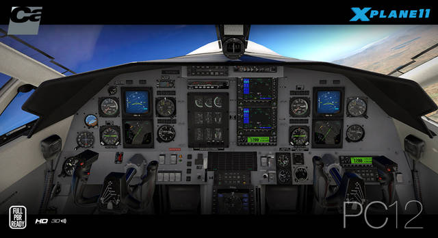 Carenado PC-12 HD series (for X-Plane 11)