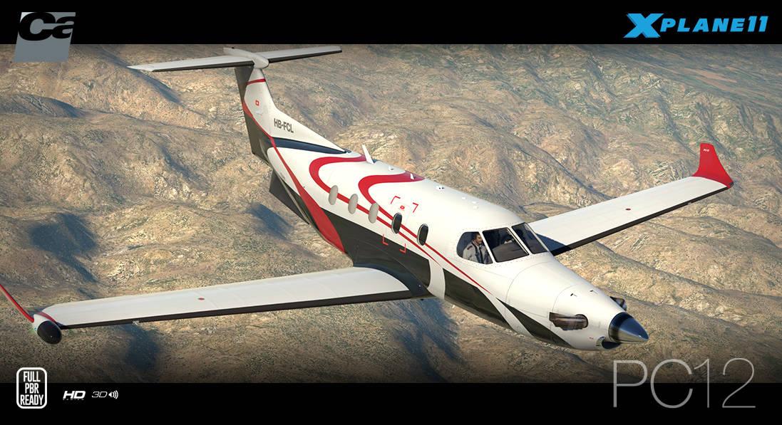 Just Flight - Carenado PC-12 HD series (for X-Plane 11)