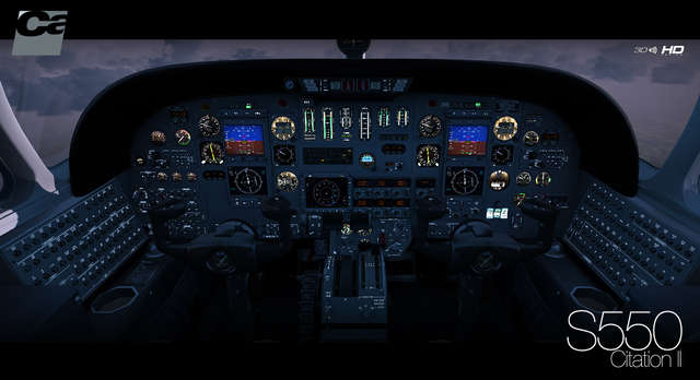 ESD Carenado S550 Citation II FSX P3D