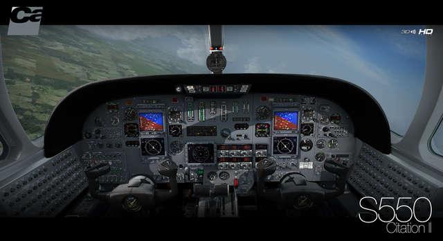 Just Flight - Carenado S550 Citation II HD Series (for FSX