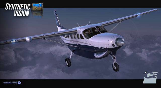 Carenado Synthetic Vision System FSX/P3D