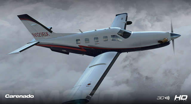 Carenado TBM 850 HD Series