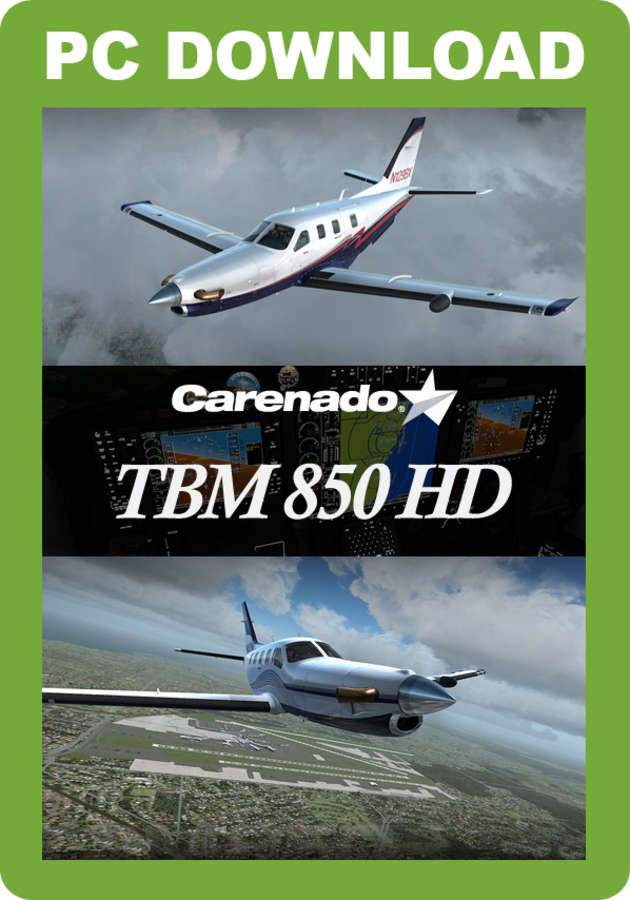 Just Flight - Carenado TBM 850 HD Series (for FSX & P3D)