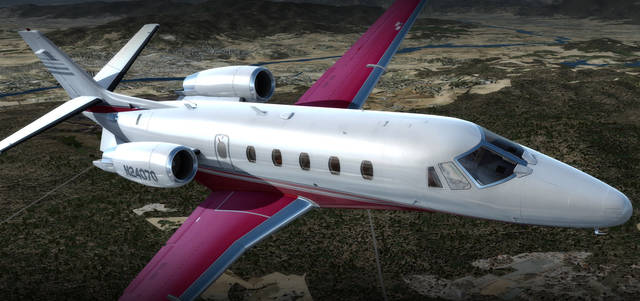 Carenado XL560 Citation (for FSX & P3D)