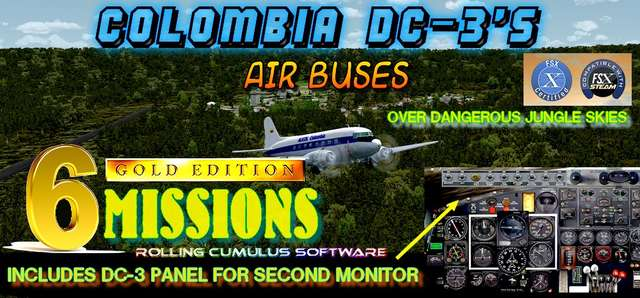Colombian Dc-3s Gold Edition