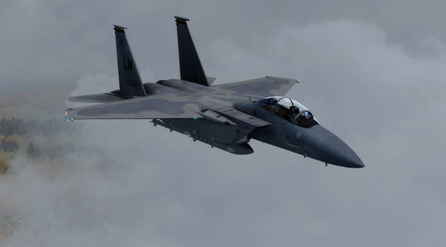 DC Designs F-15 C, E & I Eagle (for P3D v4/v5)