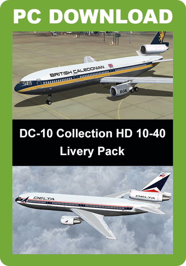 Just Flight - DC-10 Collection HD 10-40 Livery Pack