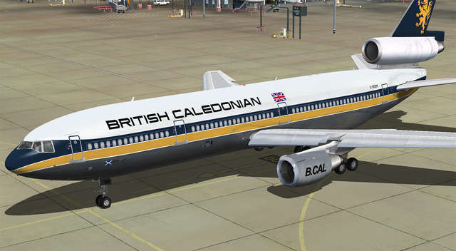 DC-10 Collection HD 10-40 Livery Pack