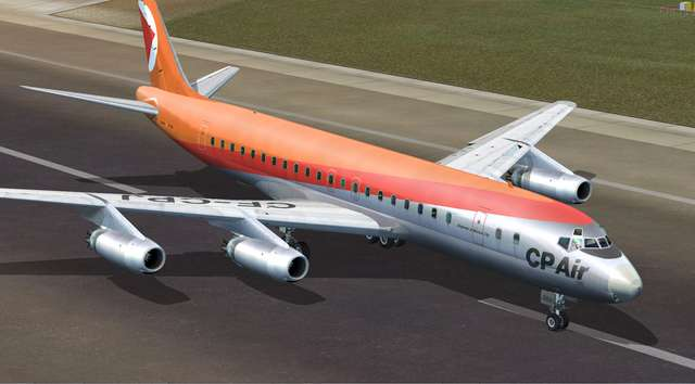 DC-8 Jetliner Series 10 to 40