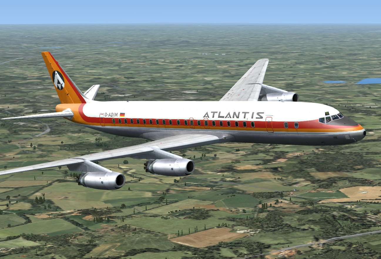 Just Flight - DC-8 Jetliner Series 10 to 40 Livery Pack