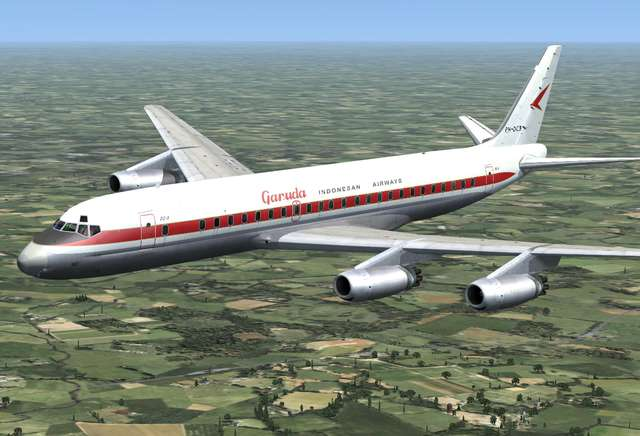 DC-8 Jetliner Series 10 to 40 Livery Pack