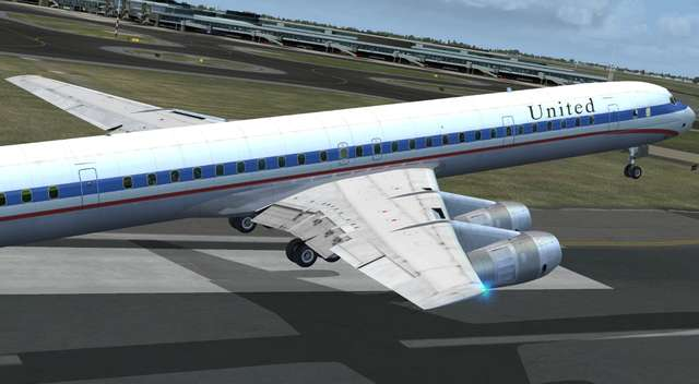 DC-8 Jetliner Series 50 to 70 Livery Pack 2