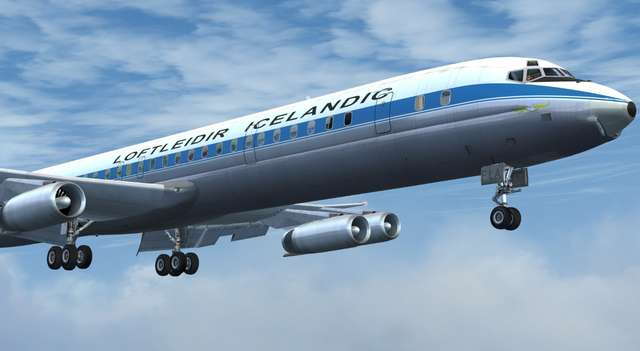 DC-8 Jetliner Series 50 to 70 Livery Pack 2017