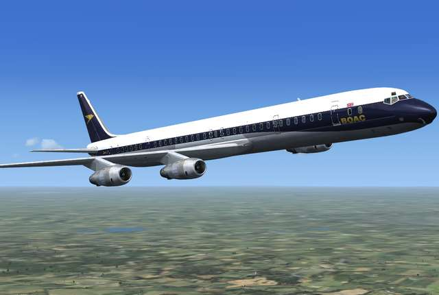 DC-8 Jetliner Series 50 to 70 'What if?'  Livery Pack