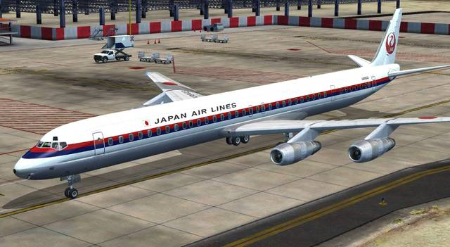 DC-8 Jetliner Series 50 to 70