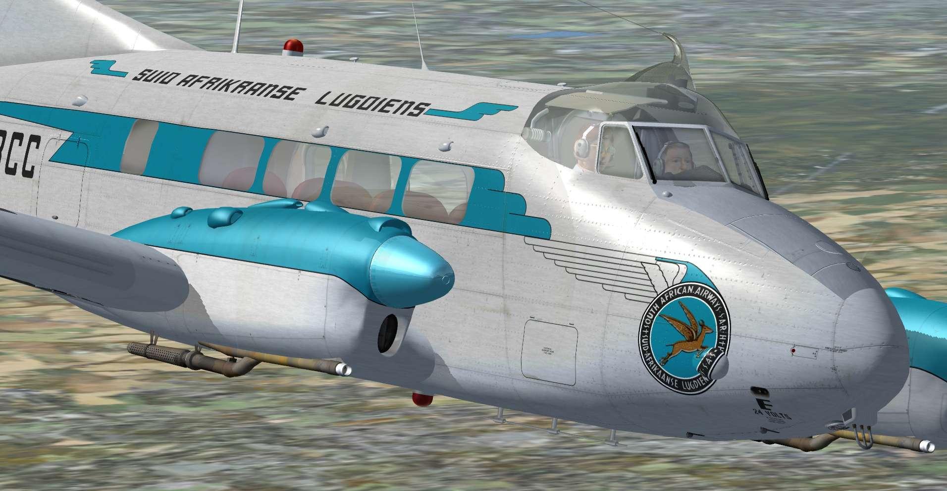 DH 104 Dove & Devon Livery Pack - Just Flight
