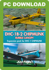 DHC-1B-2 Chipmunk - Bubble Canopy