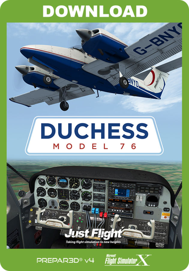 Duchess Model 76 (for P3D & FSX) - Just Flight