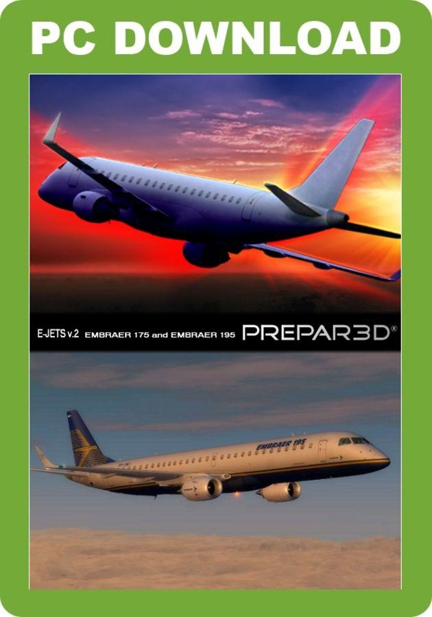 Just Flight - Embraer E-Jets v2 Embraer 175 and 195 P3D