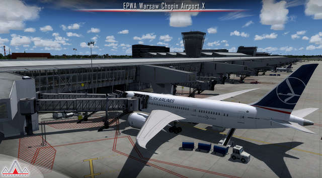 Just Flight - EPWA Warsaw Chopin Airport X (for FSX & P3D)