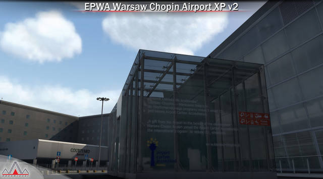 EPWA Warsaw Chopin Airport XP V2 (for X-Plane)