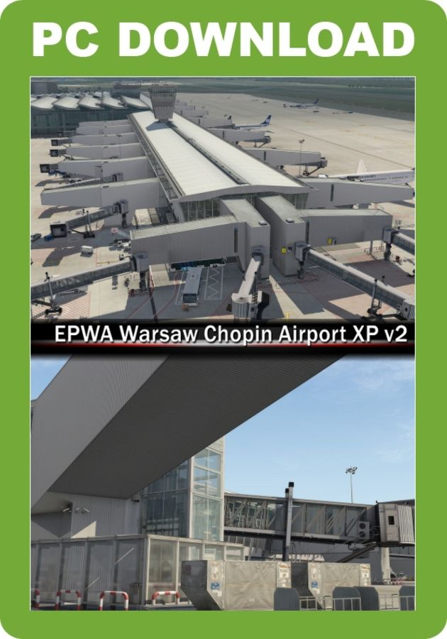 Just Flight - EPWA Warsaw Chopin Airport XP V2 (for X-Plane)