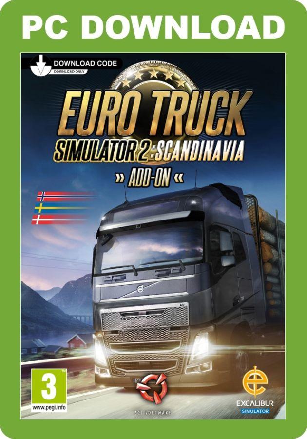 Just Flight - Euro Truck Simulator 2 - Scandinavia Add-On