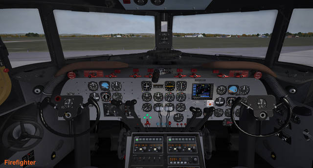 Flight Replicas DC-4 (for P3D v4)