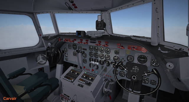 Flight Replicas Douglas DC-4 (for FSX & P3D v1-v3)