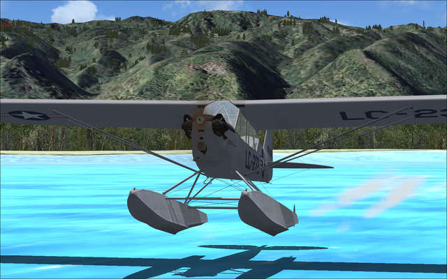 Flight Replicas L-4 Grasshopper Floatplane