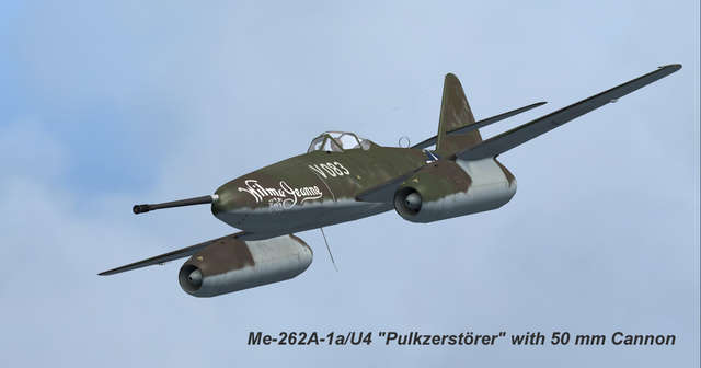 Flight Replicas Messerschmitt Me 262 Rare Types