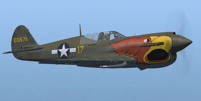 Flight Replicas P-40N Warhawk / Kittyhawk IV