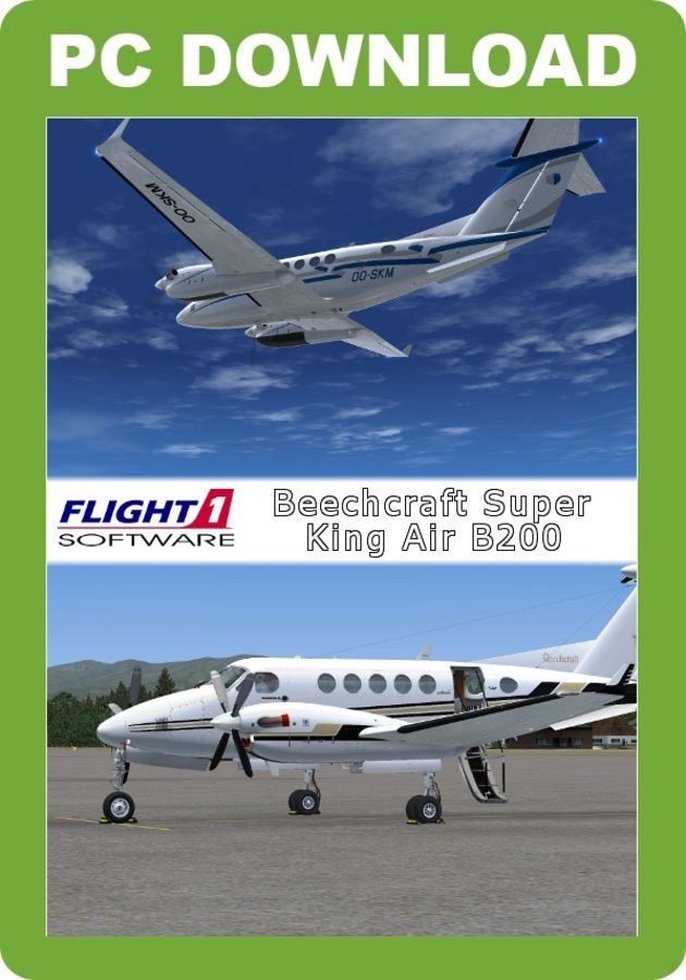 Flight 1 Beechcraft Super King Air B200 (for FSX) - Just Flight