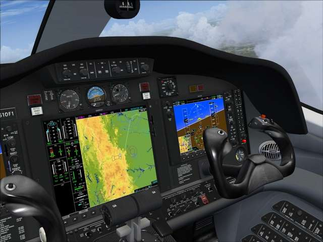 Flight 1 Cessna Citation Mustang (for P3D)