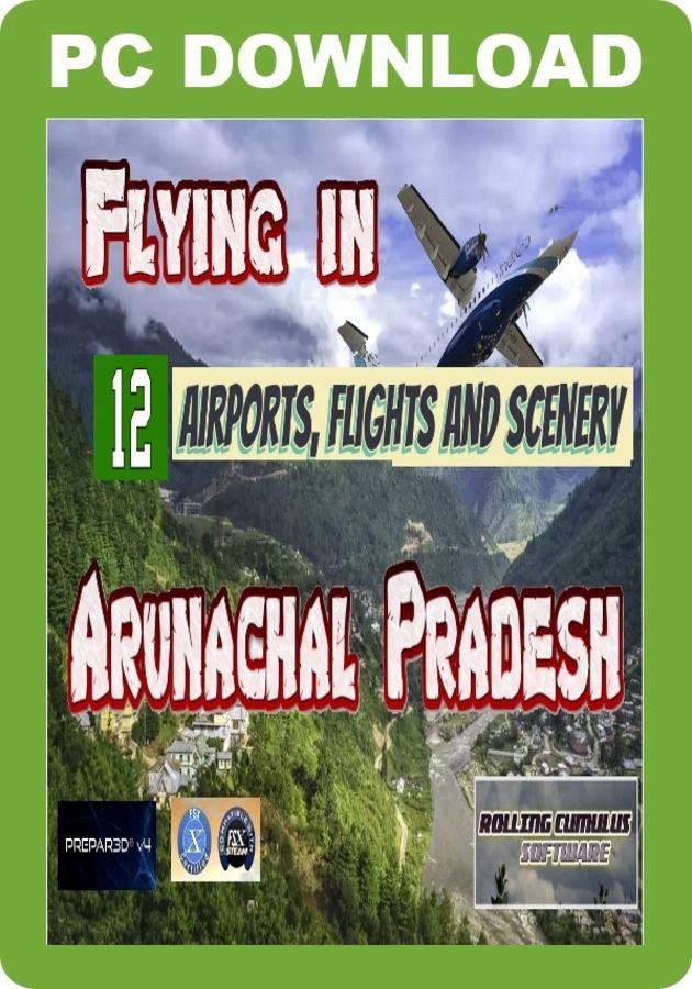 Just Flight - Flying In Arunachal Pradesh