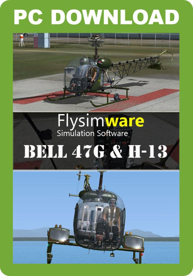Flysimware Bell 47G & H-13 - Just Flight