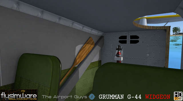 Flysimware Grumman G-44A Widgeon