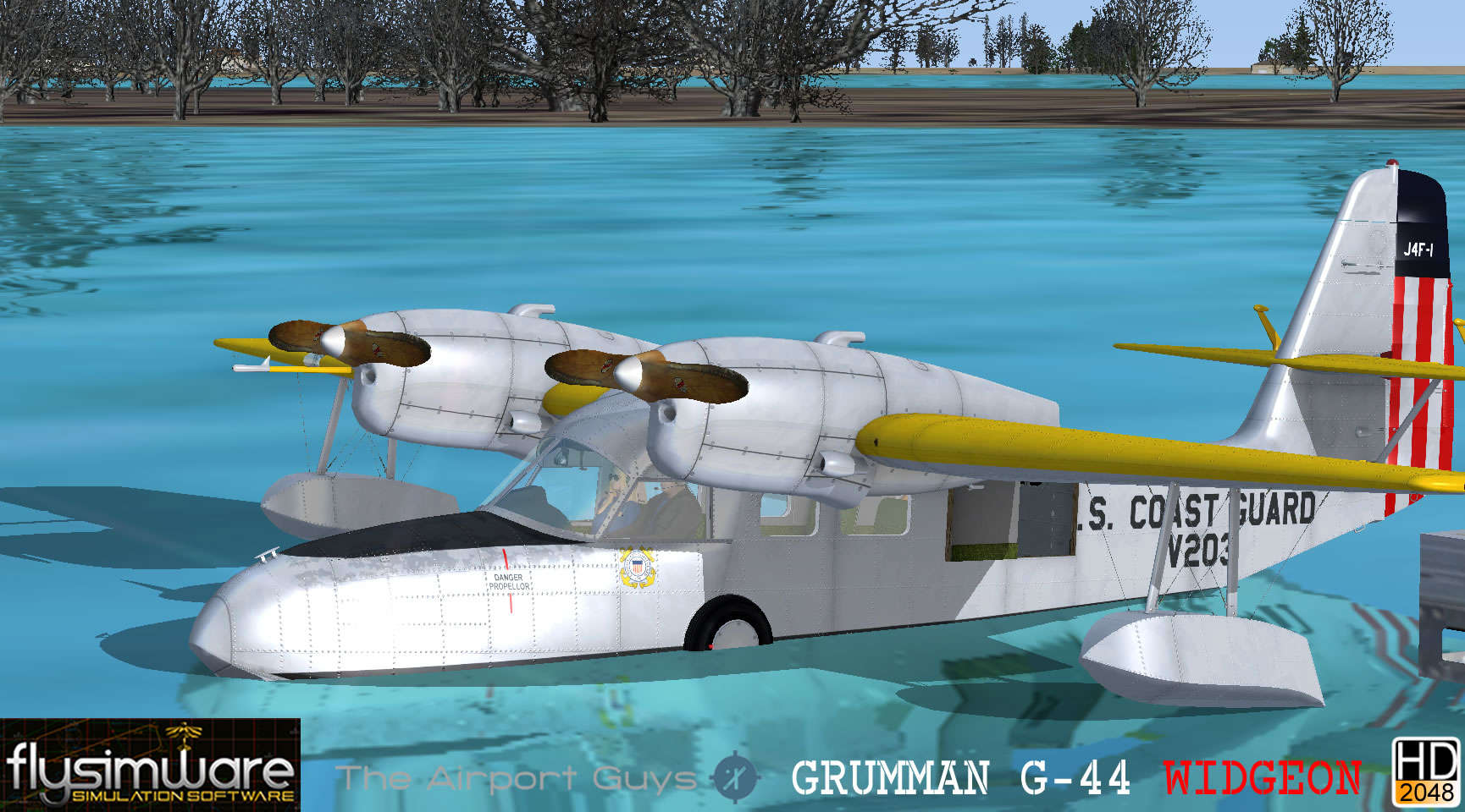 Just Flight - Flysimware Grumman G-44A Widgeon