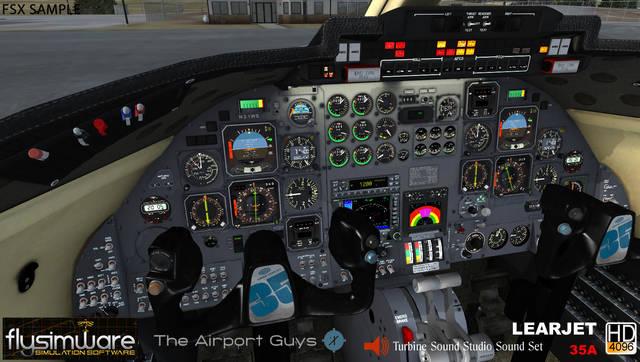 Just Flight - Flysimware Learjet 35A