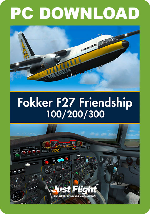 Just Flight - Fokker F27 Friendship 100/200/300