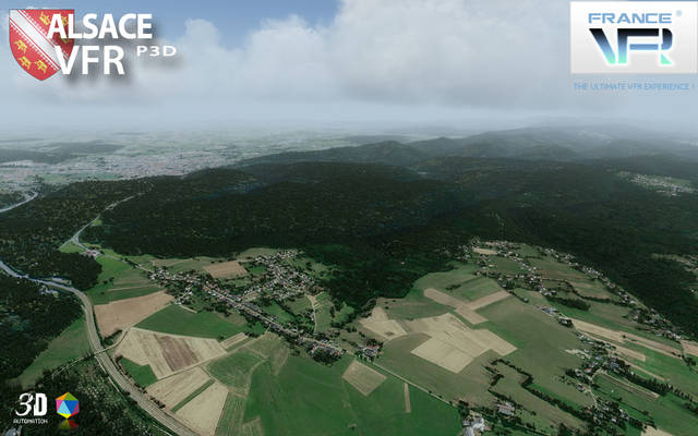France VFR - Alsace (for P3D v4)