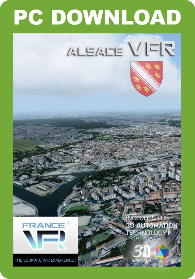 Just Flight - France VFR - Alsace (for P3D v4)