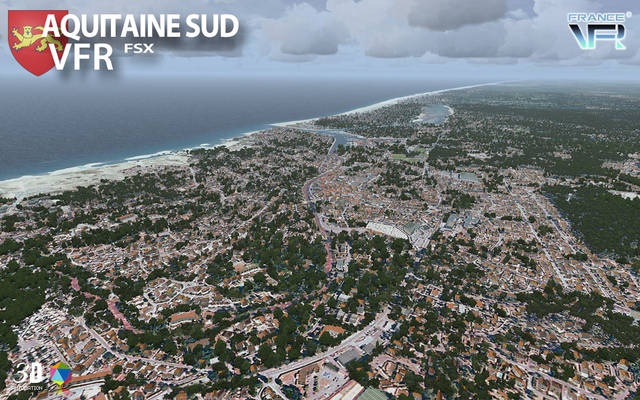 France VFR - Aquitaine Vol.1 (for FSX)