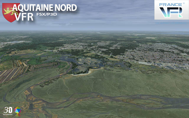 France VFR - Aquitaine Vol.2 (for FSX)